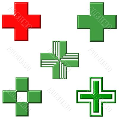 Pharmacy Crosses