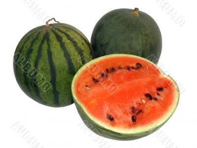 Tasty ripe water-melons