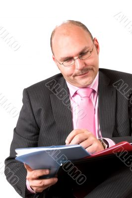 Concentrated paperwork