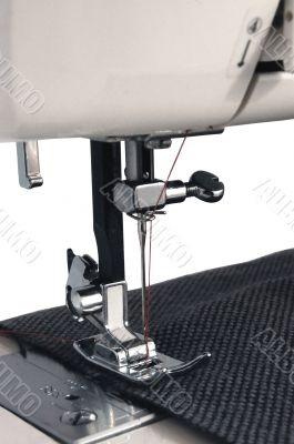 Sewing Machine Foot Closeup