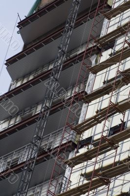 Office building construction site 3