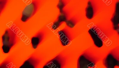 coal and fire objects abstract