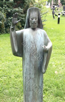 Sculpture of the priest