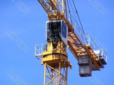 Cabine of the crane