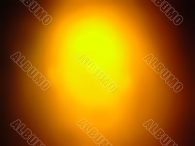 Orange glow background