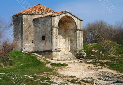 The mausoleum of the daughter of the Crimean Khan