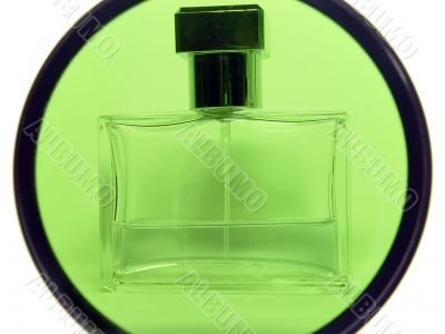Container with perfum