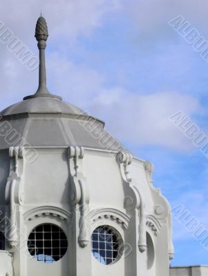 Domed architectural feature