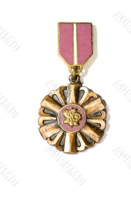 circle medal