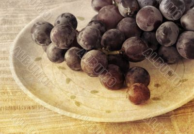 old-fashioned grapes