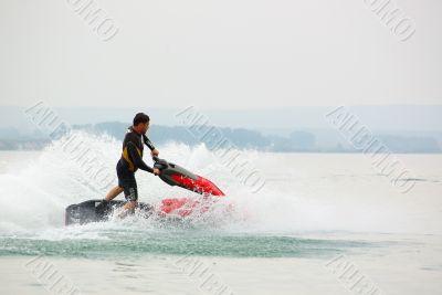 water-bike