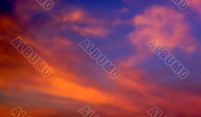 dramatic skyscape