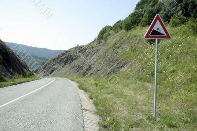 road descent