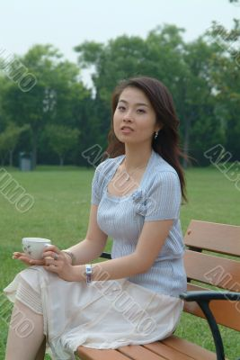 Asian Young Woman