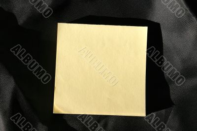 post-it notes ready to fill in