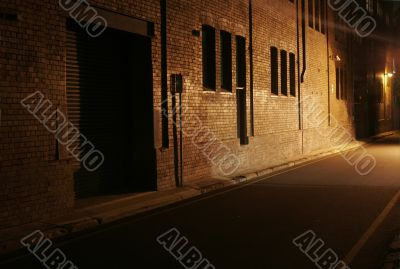 Mysterious Alley