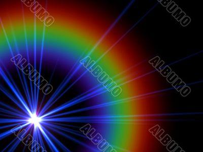 violet star emission