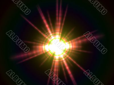 radiating star