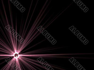 sun and starburst