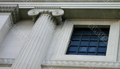 Ornamental Ionic Columns