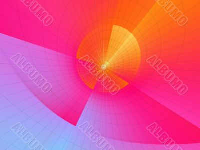 Abstraction multicolor background