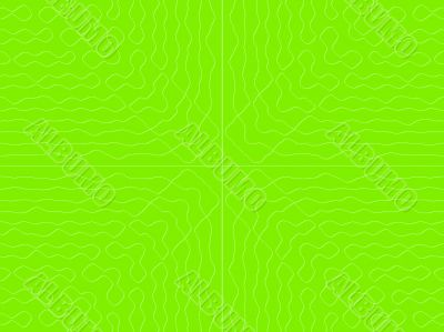 green rectangle with subtle pattern