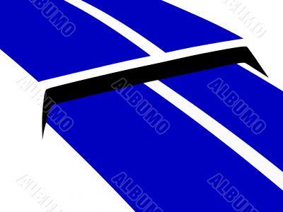 blue hood scoop