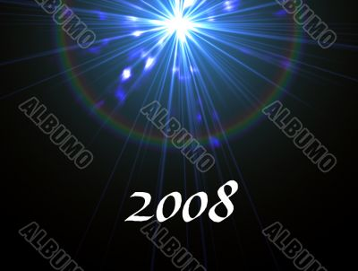 2008 new year message
