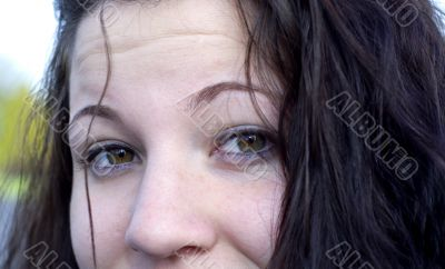 Face of Female