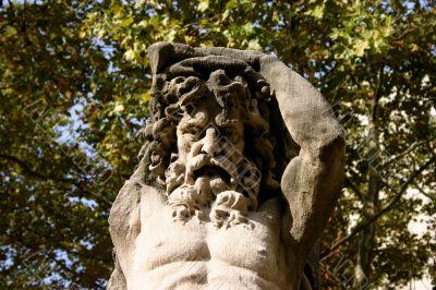 Bearded Male Statue