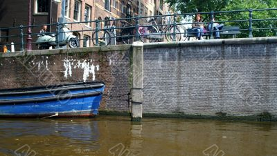 Amsterdam channel and river