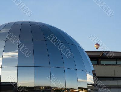 sky of spheres
