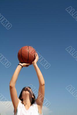 basketball girl player