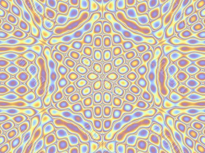 six sided repeating background pattern