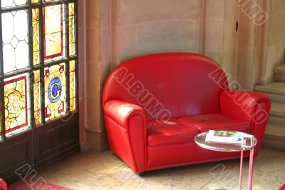 Sofas stained glass