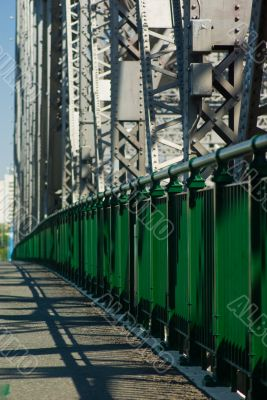 Pedestrian Walkway on the Storey Bridge: Brisbane Australia