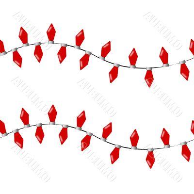 Strings of Christmas Lights
