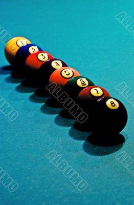 Balls in order