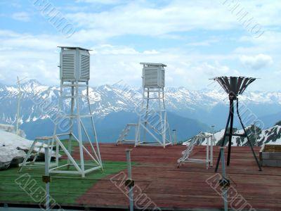 Service of the meteorological observation