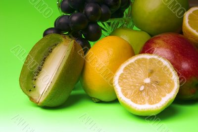 bright and juicy fruit
