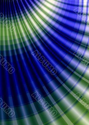 dark blue and green tones