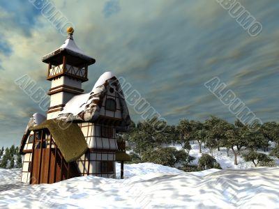 fairy-tale cottage