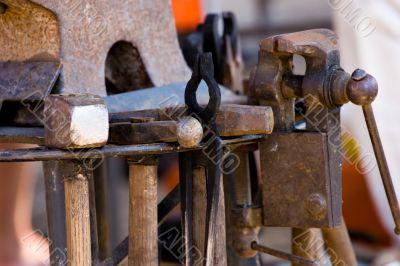blacksmith`s tools