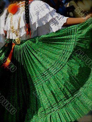 Traditional Folk Dancer