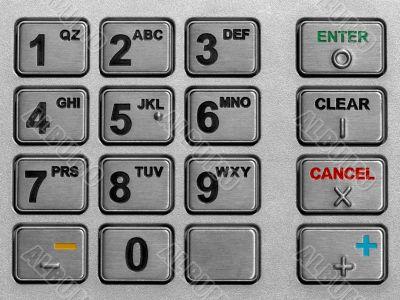 keypad atm