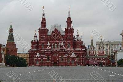 The Historical Museum, Moscow