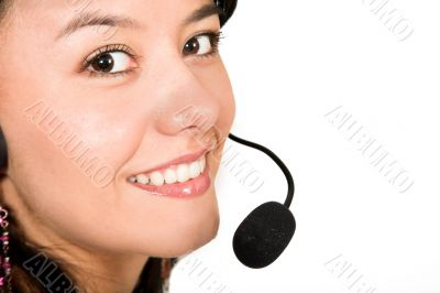 customer services - close up