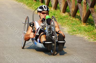 Wheelchair sportsman