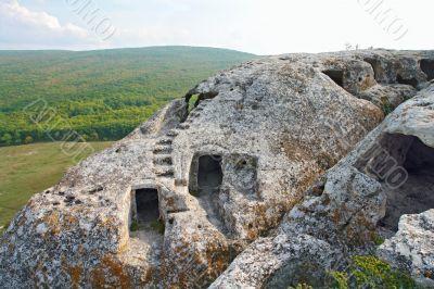 The forgotten cities of Crimea Eski Kermen