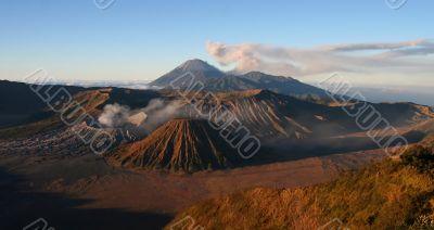 Bromo caldera, Eastern Java